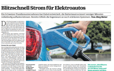 NZZ reports about our high power charging systems